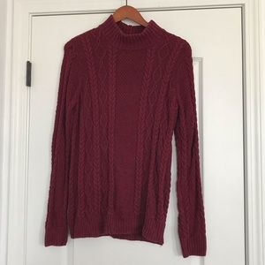Jeanne Pierre Cable-knit Sweater